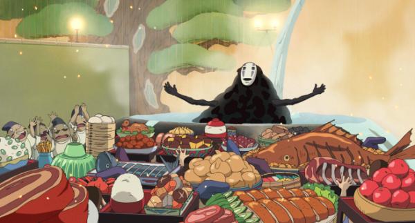 千と千尋の神隠しのブヨブヨした食べ物