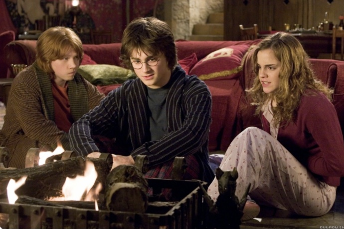 ハリポタ炎のゴブレットでニキビに悩むハリー、ロン、ハーマイオニー