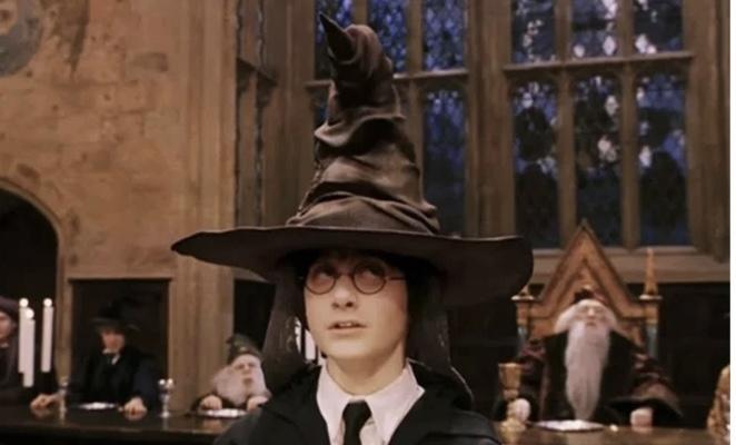 ハリー・ポッターの組分け帽子