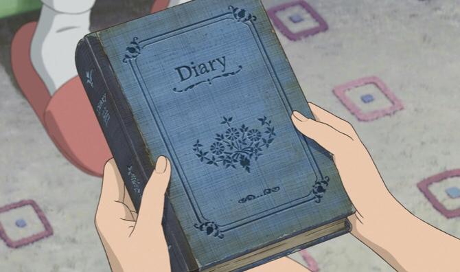 マーニーの日記にといちの事が書かれている
